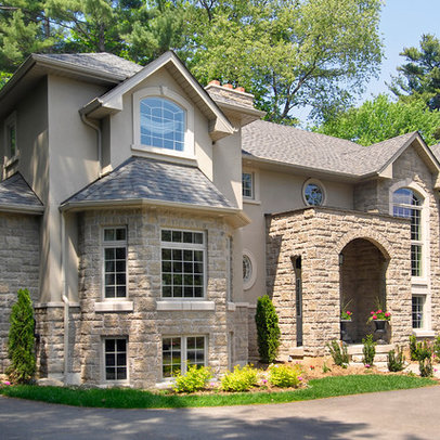 Stone And Stucco L C House Pinterest