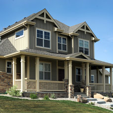 Craftsman Exterior by Spanjer Homes
