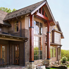 Rustic Exterior by Todd Crawford Photography