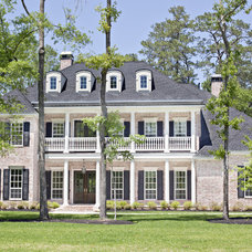 Traditional Exterior by Wyrick Residential Design