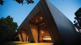 External timber battens