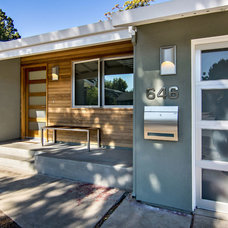 Midcentury Exterior by Bill Fry Construction - Wm. H. Fry Const. Co.