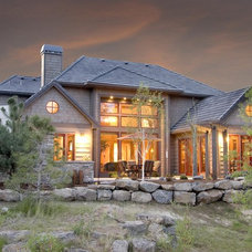 Rustic Exterior by Suzanne Marie's Interiors, Suzanne Denning
