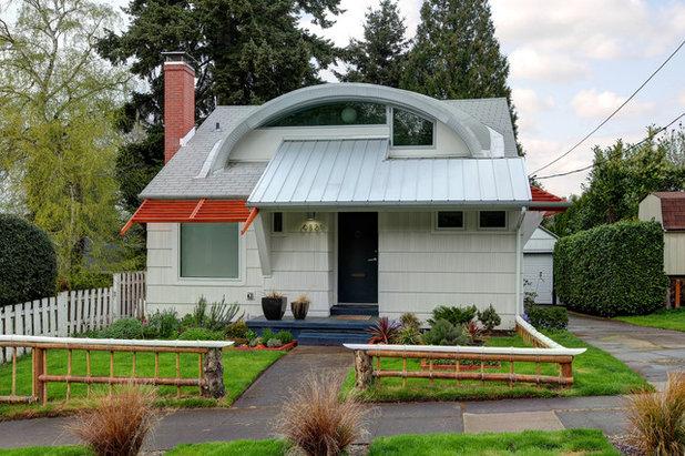 Eclectic Exterior Eyebrow House