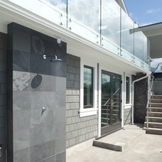 Contemporary Exterior by Synthesis Design Inc.
