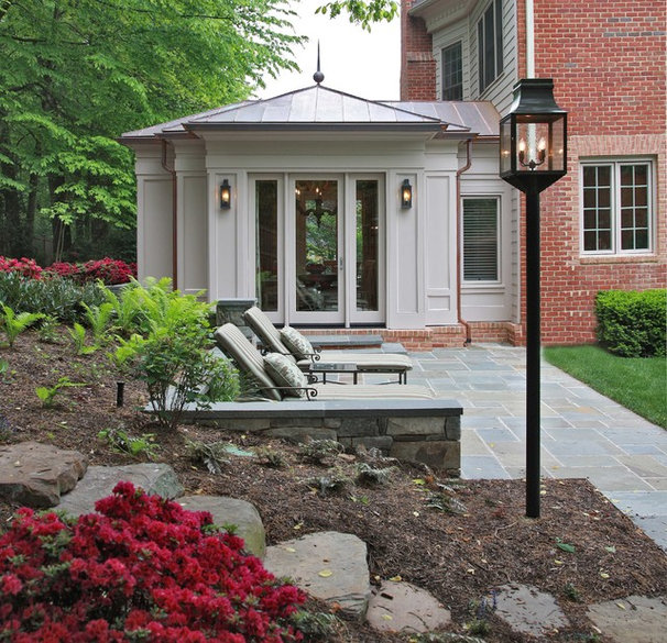 Traditional Exterior by Edgemoor Custom Builders