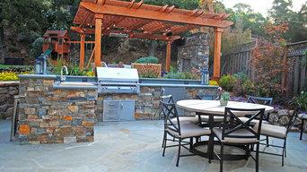 Fabulous outdoor kitchen