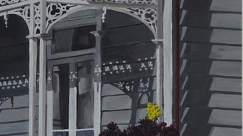 Facade Art - an original painting of your home