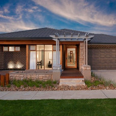 Contemporary Exterior by Orbit Homes