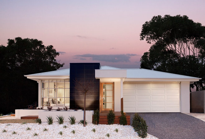 Transitional Exterior by Orbit Homes