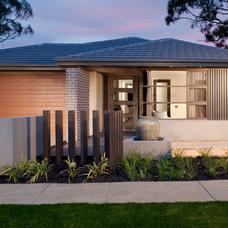 Modern Exterior by Orbit Homes