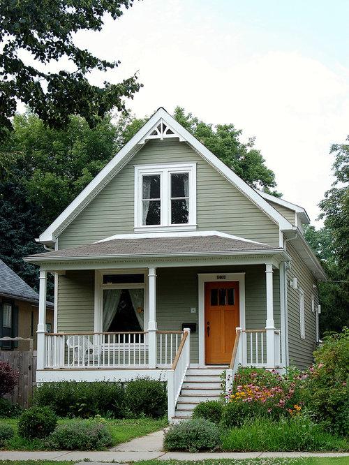 Exterior peak home design ideas pictures remodel and decor for Exterior house peak decorations