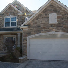 Traditional Exterior by J.B. Brickworks, Inc.