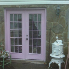 Eclectic Exterior by Traci Watson/Mermaid's Cottage