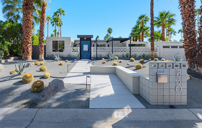 Houzz Tour: A Palm Springs Midcentury Home With Central American Flair