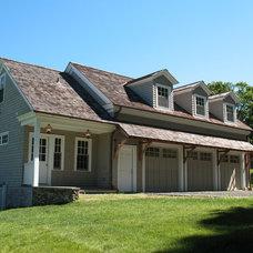 Farmhouse Exterior by JMKA   architects
