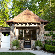 Traditional Exterior by Howard Design Studio