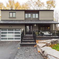 Contemporary Exterior by The Graces - ReMax Hallmark Realty