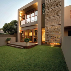 Contemporary Exterior by Mills Gorman Architects