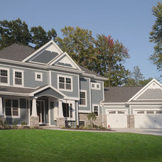 contemporary exterior by Radue Homes Inc.