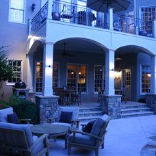 Traditional Exterior by Bennett Design & Landscape