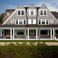 Traditional Exterior by Catalano Architects