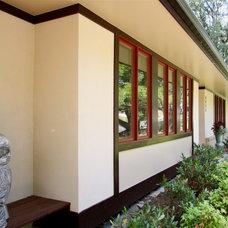 Asian Exterior by William L.  Feeney Architect LLC