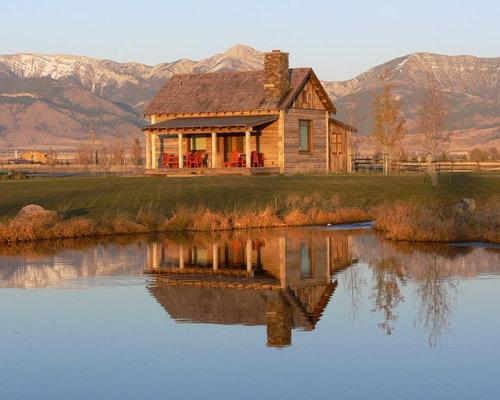 Rustic Cabin Interior Home Design Ideas Pictures Remodel
