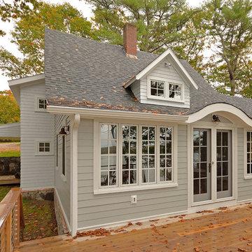 Family Coastal Cottage Renovation