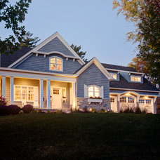 Traditional Exterior by Building Concepts and Design
