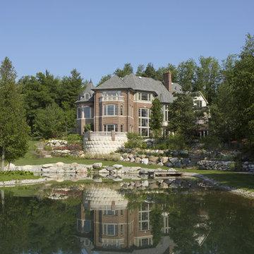 Family Residence, Custom Home, Exterior