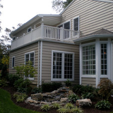 Traditional Exterior by The Essex Group