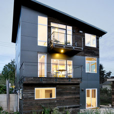 Contemporary Exterior by B9 Architects Inc