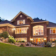 Traditional Exterior by Pillar Homes
