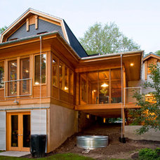 Eclectic Exterior by SALA Architects