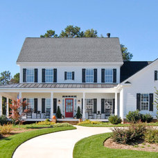 Farmhouse Exterior by Bergeron Custom Homes, LLC