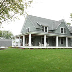 Sonoma County Residence Farmhouse Exterior San