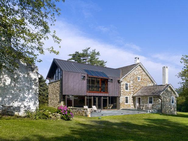Landhausstil Häuser by Wyant Architecture