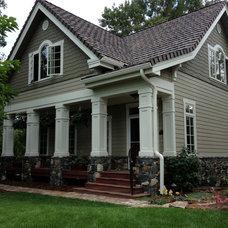 Farmhouse Exterior by TKP Architects