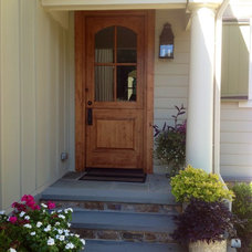 Traditional Exterior by Arbor Hill Interiors