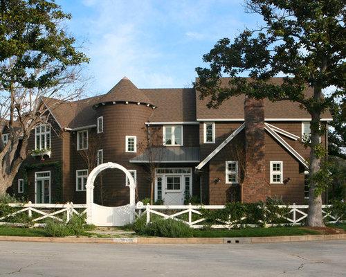 Farmhouse los angeles exterior design ideas remodels photos for Plantation beuh exterieur