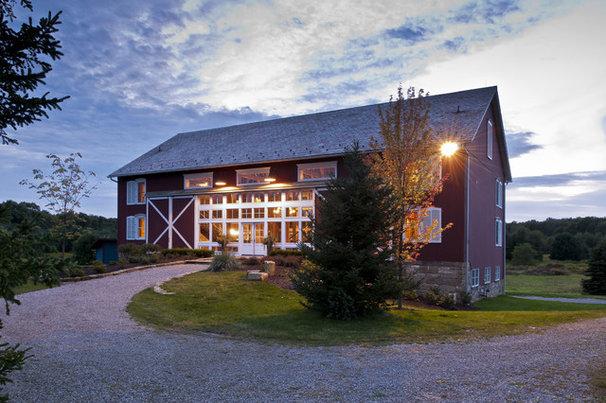 Farmhouse Exterior by Blackburn Architects, PC