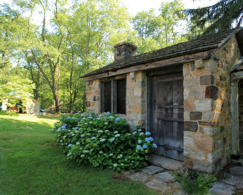 Small Stone House   Houzz
