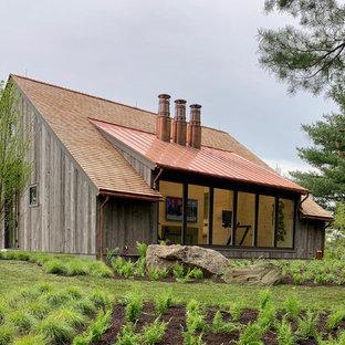 Idee per la facciata di una casa country