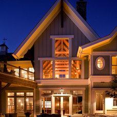 Farmhouse Exterior by Murphy & Co. Design