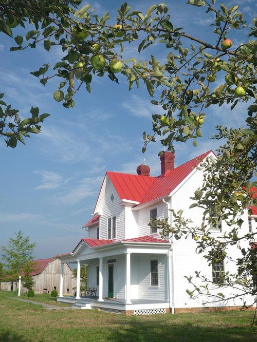 White Farmhouse Houzz