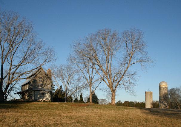 Farmhouse Exterior by Pursley Dixon Architecture