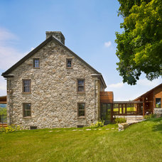 Farmhouse Exterior by McCoubrey/Overholser, Inc.