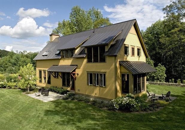Farmhouse Exterior by Smith & Vansant Architects PC