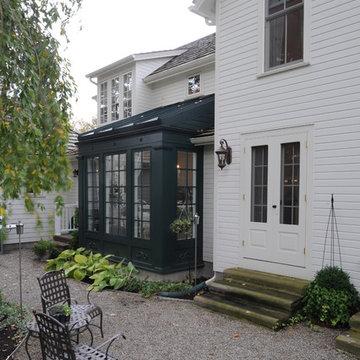 Farmhouse Renovation Conservatory